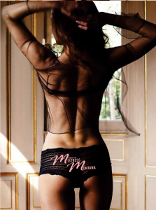 Mistress Montana - Property Of Mistress Montana Pink Lettering